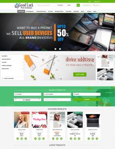 ecommerce basic website page 2