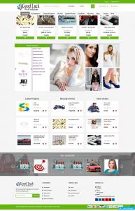 ecommerce basic website page 1